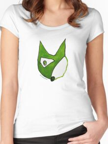 Paradox Fox Women's Fitted Scoop T-Shirt