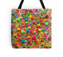 Marshawn Lynch Skittles Inspired 'Rain Painting' Tote Bag