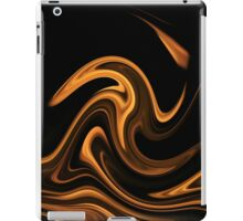 Fire - Flame Background of Golden Yellow iPad Case/Skin
