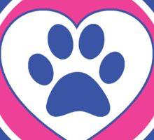 I LOVE MY RETRIEVER GOLDEN DOG HEART I LOVE MY DOG PET PETS PUPPY STICKER STICKERS DECAL DECALS Sticker