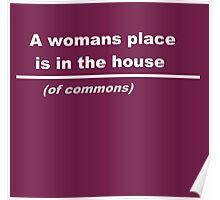Women in Politics Poster
