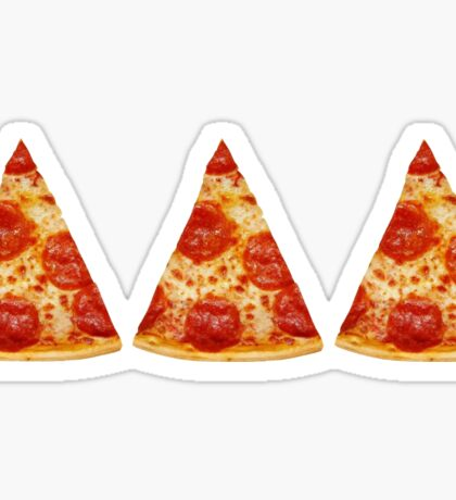 tridelt pizza  Sticker