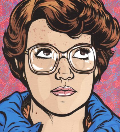 Barb Sticker