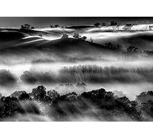 Mist on the Everton Hills Photographic Print