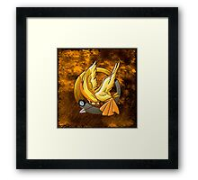 Hunger Phoenix Pokeball Framed Print