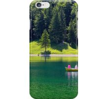 A Boat Ride on the Lake iPhone Case/Skin