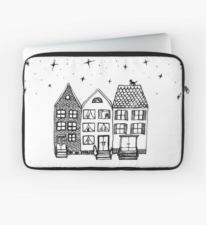 Amsterdam by Night by MayaFly Laptop Sleeve
