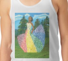 Mosaic Lady #2 Tank Top