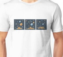 No Matter where we are, we have all the same sky Unisex T-Shirt