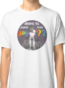 does is Jumin Han gay?? Classic T-Shirt