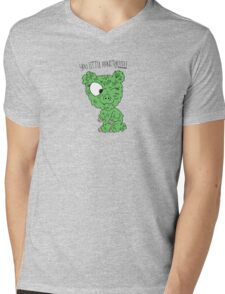 You Little Monster !!!!! Mens V-Neck T-Shirt