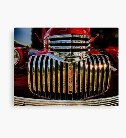 Chevy Chrome - 1946  Canvas Print