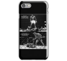 McGregor / Ali iPhone Case/Skin