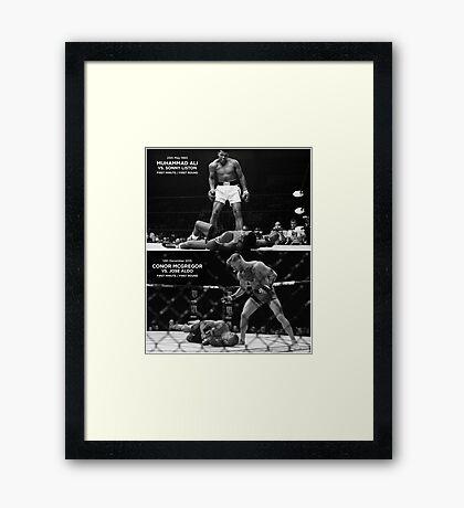 McGregor / Ali Framed Print