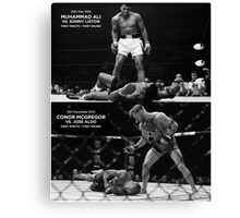 McGregor / Ali Canvas Print