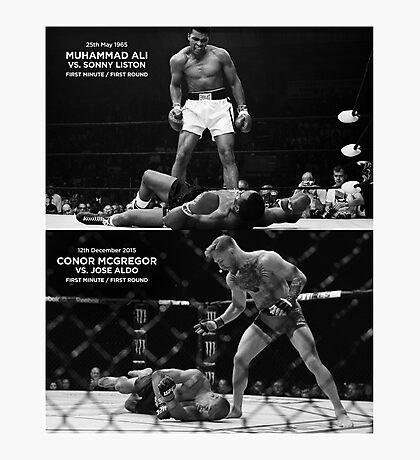 McGregor / Ali Photographic Print
