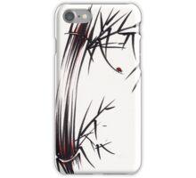 Adventurous Spirit - Sumi Sumie Ink Brush Painting iPhone Case/Skin