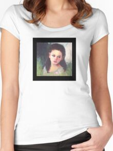 The Artist's Child Women's Fitted Scoop T-Shirt