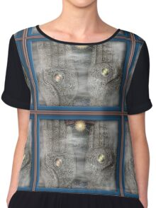 Being Centered Chiffon Top