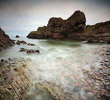 Portnockie Beach by Roddy Atkinson