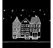 Amsterdam by Night by MayaFly Photographic Print