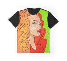 Fashion girl portrait illustration Graphic T-Shirt