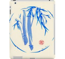 """enso blu""  Original enso sumi-e ink brush pen wash painting iPad Case/Skin"