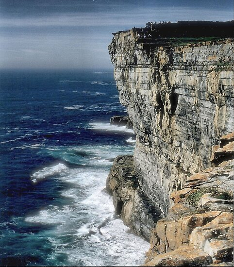 The Cliffs of Inishmore by Larry Lingard-Davis