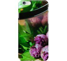Cutting herbs iPhone Case/Skin
