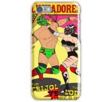 The Great Luchadores iPhone Case/Skin