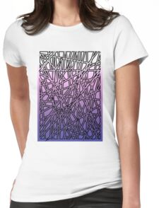 Shards Womens Fitted T-Shirt