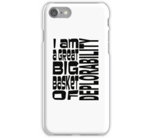 BIG BASKET 1 iPhone Case/Skin
