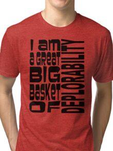 BIG BASKET 1 Tri-blend T-Shirt