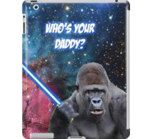 gorilla is your father iPad Case/Skin