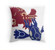 Omega Ruby/Alpha Sapphire Throw Pillow