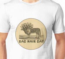 Bad Hair Day Bible Blasphemy Lion Unisex T-Shirt