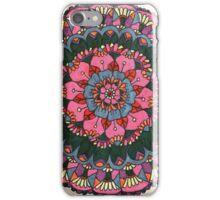 Bright and beautiful mandala iPhone Case/Skin