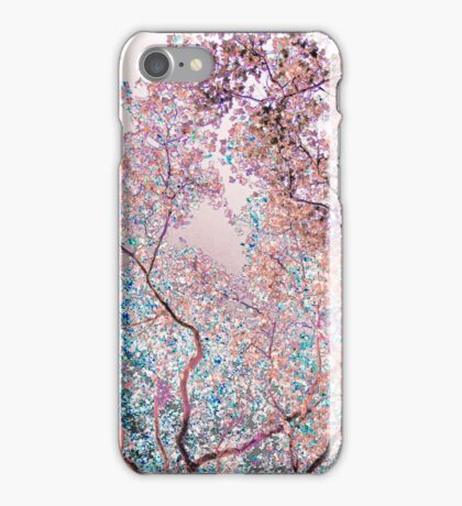 The Lungs of the Earth - Pink, Black and Turquoise iPhone Case/Skin