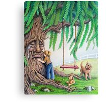 Weepy Willow Canvas Print