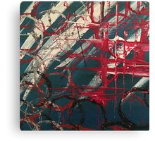 """Orginal painting """"lost in space"""" Canvas Print"""
