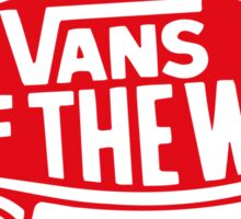 Vans Clothing & Sticker Sticker