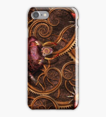 Steampunk - Insect - Itsy bitsy spiders iPhone Case/Skin