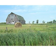 Old Barn on the Prairie Photographic Print