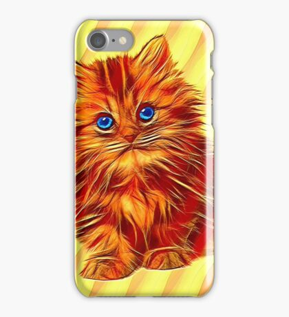 Furry Kitten iPhone Case/Skin