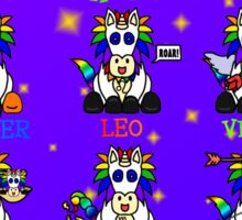 The Unicorn Zodiac (In Color!) Sticker