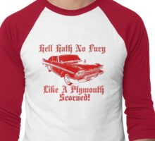 Hell Hath No Fury Men's Baseball ¾ T-Shirt