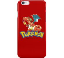 Charizard Red iPhone Case/Skin
