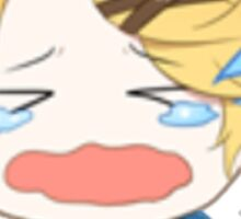 yoosung crying emoji 2 Sticker
