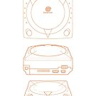 Dreamcast - Blueprint Design by Frenchican