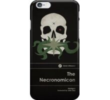 The Necronomicon iPhone Case/Skin